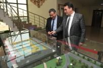MAHALLİ İDARELER - İskeçe'nin Tek Türk Belediye Başkanından Dündar'a Ziyaret