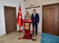 JANDARMA GENEL KOMUTANI - Jandarma Genel Komutanı Orgeneral Çetin, Vali Büyükakın İle Bir Araya Geldi