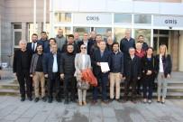 MUSTAFA GÖKÇE - Kuşadası AK Parti'nin Yeni İlçe Başkanı Ve Yönetimi Mazbatalarını Aldı