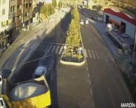 MOBESE KAMERALARI - Mardin'deki Trafik Kazaları Mobeseye Yansıdı