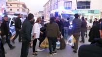 SELAHADDIN - Otomobil Kaldırımdaki Yayalara Çarptı Açıklaması 2 Yaralı