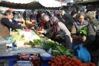 PAZARCI ESNAFI - Sıcak Hava Sebze Fiyatlarını Düşürdü