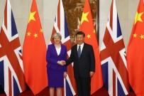 THERESA MAY - Theresa May, Çin Devlet Başkanı Jinping ile görüştü