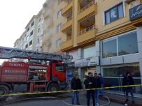 Tunceli'de İş Yeri Yangını