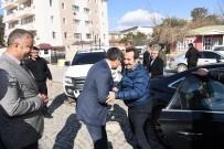 ENGELLİ ASANSÖRÜ - Vali Mantı Ve Başkan Barakazi'den Muş Belediyesine Ziyaret