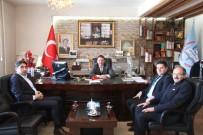 YEŞILAY CEMIYETI - Yeşilay Cemiyeti Erzurum Şube Başkanı Salih Kaygusuz'dan Yıldız'a Ziyaret