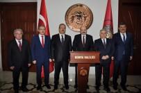 SELÇUKLULAR - YÖK Başkanı Saraç Konya'da NEÜ Ev Sahipliğinde UNİKOP Rektörleri İle Buluştu