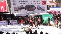23. Uluslararası Kar Üstü Karakucak Güreşleri