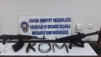 KAYHAN - Adana'da MP5 Ve Kaleşnikof İle Yakalanan Gözaltına Alındı