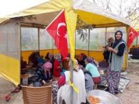 İÇLİ KÖFTE - Afrin'deki Mehmetçiğe Yöresel Yemekler Gönderdiler