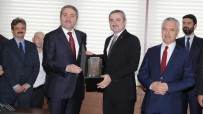 İSTANBUL İL BAŞKANLIĞI - AK Parti İstanbul İl Başkanlığında Devir Teslim Yapıldı