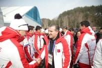 OLİMPİYAT ŞAMPİYONU - Bakan Bak Olimpiyat Köyünü Ziyaret Etti
