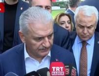 Başbakan Yıldırım: Atak helikopterimiz düştü, 2 asker şehit oldu