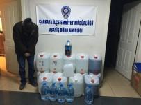 GIDA BOYASI - Başkent'te Kaçak İçki Operasyonu
