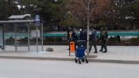 ŞÜPHELİ ÇANTA - Çorum'da Şüpheli Çanta Fünyeyle Patlatıldı