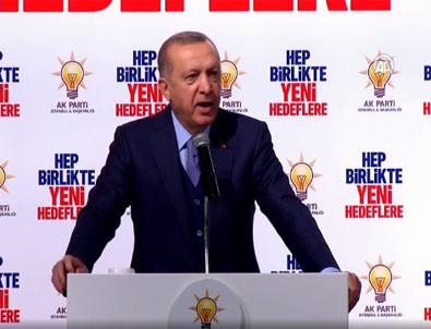 Cumhurbaşkanı Erdoğan: Az önce bir helikopterimiz düşürüldü