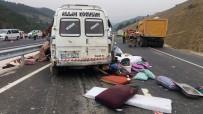 VAHDETTIN ÖZKAN - Feci Kazada Aynı Aileden 9 Kişi Hayatı Kaybetti