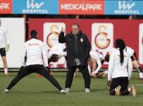 METİN OKTAY - Galatasaray, Antalyaspor'a Hazırlanıyor