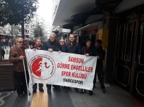 YARDIM KAMPANYASI - Görme Engellilerden Samsunspor'a Destek