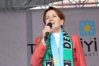 YASIN ÖZTÜRK - Meral Akşener, Denizli'de Partisinin İl Binasını Açtı