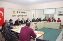 ÇAM SAKıZı - Milletvekili Deligöz, Ak Parti Teşkilatını Dinledi