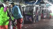 BEĞENDIK - Palandöken'de Hafta Sonu Kayak Keyfi