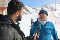 MEHMET YAVUZ - Palandöken'de Hafta Sonunda Kayak Keyfi