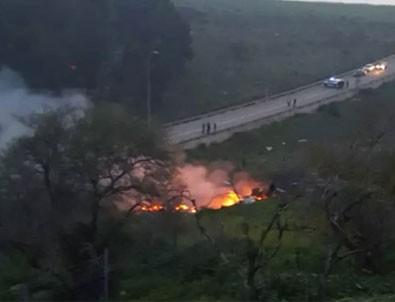 İran insansız hava aracını durduran İsrail'de, F-16 düştü! Füze saldırısıyla sirenler çaldı