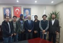 NIHAT ERI - Suriyeli Ve Sudanlı Öğrencilerden AK Parti'ye Ziyaret