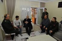 ASKERLİK ŞUBESİ - Vali Şentürk, Afrin Gazisini Evinde Ziyaret Etti