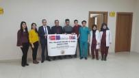 REHBER ÖĞRETMEN - Yurtdışına Giden Öğrenciler Müdür Kaya'yı Ziyaret Etti