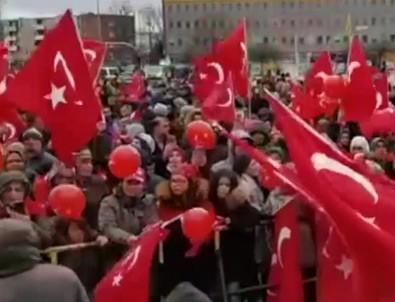 Almanya'da Türkiye'ye destek mitingi