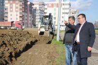 EĞLENCE MERKEZİ - Atakum'da Aqua Park İnşaatı Başladı