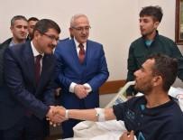 İSMAIL BILEN - Başkan Çelik'ten Kahraman Afrin Gazisi'ne Ziyaret