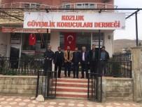 Başkan Şehitoğlu, Kozluk Güvenlik Korucuları Derneğini Ziyaret Etti