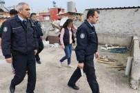 GENÇ KIZ - Çatıdaki Odadan Gelen Çığlık Sesleri Polisi Alarma Geçirdi