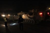 ASKERİ ARAÇ - Hatay sınırına askeri sevkiyat sürüyor