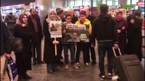 TEL AVIV - İsrail'de Serbest Bırakılan Akademisyen Tekeli Yurda Döndü