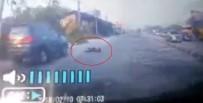 KADIN SÜRÜCÜ - Kadın Sürücü Metrelerce Sürüklendi