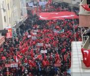 MAHMUT HERSANLıOĞLU - Sıfır Noktasında Mehmetçik'e Mehteranlı Destek Yürüyüşü