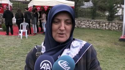 Afrin Şehidi, Halisdemir Adına Bağışta Bulunmuş