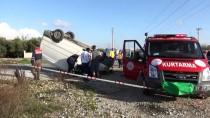 MUSTAFA BULUT - Antalya'da Trafik Kazası Açıklaması 1 Ölü, 2 Yaralı