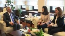 AZİZ SANCAR - Bakan Arslan, Aziz Sancar Bursunun İlk Sahibini Kabul Etti