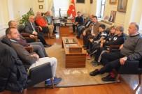 MUHAKEME - Başkan Eşkinat Milli Yelkencileri Ağırladı