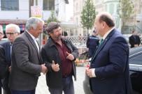PAZAR ESNAFI - Başkan Özakcan'dan Eğrikavak Mahallesi'ne Ziyaret