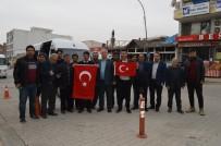 AHMET ÖZTÜRK - Besnili Muhtarlar Mehmetçik'e Destek İçin Sınıra Gitti