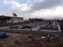 TAYTAN - Damızlık Koç-Teke Ağıl Projesi İnşaatı Yükseliyor