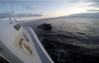 BADEMLI - Ege Denizi'nde 43 Kaçak Göçmen Yakalandı