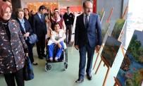 KEMAL YURTNAÇ - Engelli Kadın Ağzıyla Yaptığı Resimlerin Gelirini Mehmetçiğe Bağışlayacak