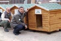 KÜRESEL İKLİM DEĞİŞİKLİĞİ - Gümüşhane'de Sokak Hayvanlarına Beş Yıldızlı Kulübe Yapıldı